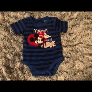 "Disney Baby""Mama is My First Love"" Onesie"